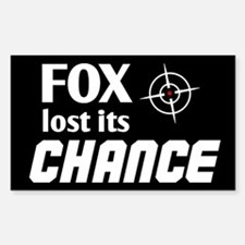 FOX lost its Chance Decal