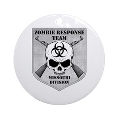 Zombie Response Team: Missouri Division Ornament (