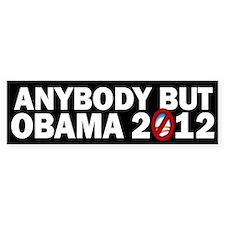 Anybody but Obama Bumper Sticker