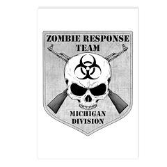 Zombie Response Team: Michigan Division Postcards