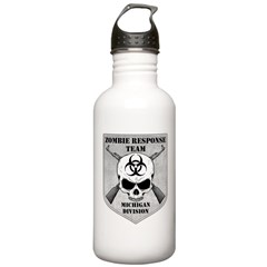 Zombie Response Team: Michigan Division Water Bottle