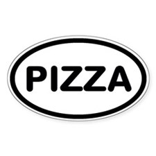 Pizza Decal