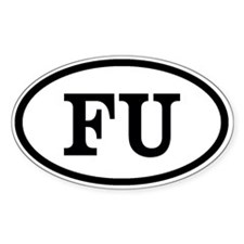 FU Decal
