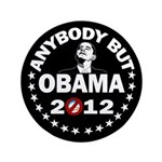 "Anybody but Obama 3.5"" Button"