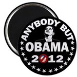 "Anybody but Obama 2.25"" Magnet (100 pack)"