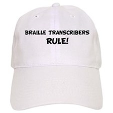 BRAILLE TRANSCRIBERS Rule! Baseball Cap