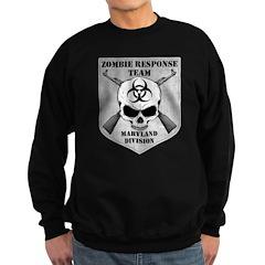 Zombie Response Team: Maryland Division Sweatshirt