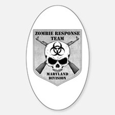 Zombie Response Team: Maryland Division Decal