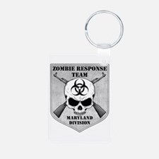 Zombie Response Team: Maryland Division Keychains