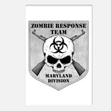 Zombie Response Team: Maryland Division Postcards