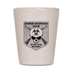 Zombie Response Team: Maryland Division Shot Glass