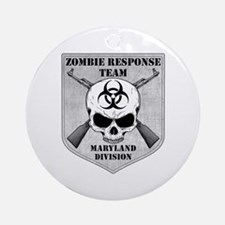 Zombie Response Team: Maryland Division Ornament (