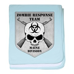 Zombie Response Team: Maine Division baby blanket