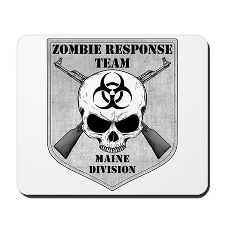 Zombie Response Team: Maine Division Mousepad