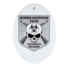 Zombie Response Team: Louisiana Division Ornament