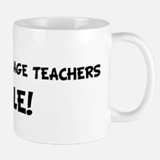 FOREIGN LANGUAGE TEACHERS Rul Mug