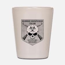 Zombie Response Team: Kentucky Division Shot Glass
