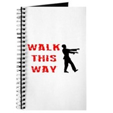 Walk This Way Zombie Journal