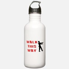 Walk This Way Zombie Water Bottle