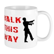 Walk This Way Zombie Mug