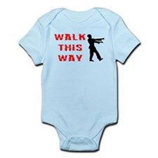 Walk This Way Zombie Infant Bodysuit