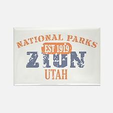 Zion National Park Utah Rectangle Magnet
