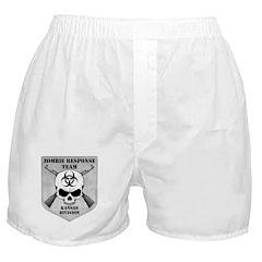 Zombie Response Team: Kansas Division Boxer Shorts