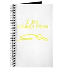 Yellow Child's Pose Journal