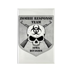 Zombie Response Team: Iowa Division Rectangle Magn