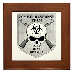 Zombie Response Team: Iowa Division Framed Tile