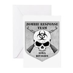 Zombie Response Team: Iowa Division Greeting Cards