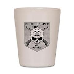 Zombie Response Team: Iowa Division Shot Glass