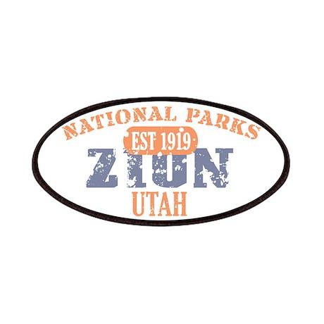 Zion National Park Utah Patches