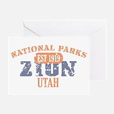 Zion National Park Utah Greeting Card
