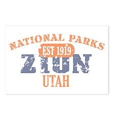 Zion National Park Utah Postcards (Package of 8)