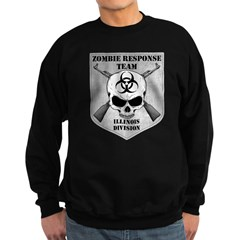 Zombie Response Team: Illinois Division Sweatshirt