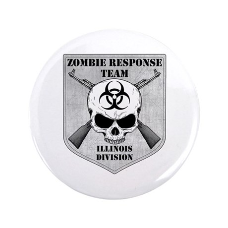 "Zombie Response Team: Illinois Division 3.5"" Butto"