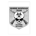 Zombie Response Team: Illinois Division Postcards