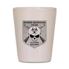 Zombie Response Team: Illinois Division Shot Glass