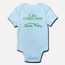 Green Child's Pose Infant Bodysuit