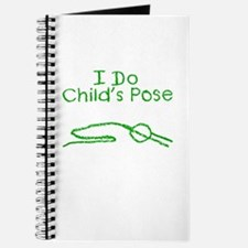 Green Child's Pose Journal