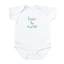 Born to Nurse Breastfeeding Infant Bodysuit