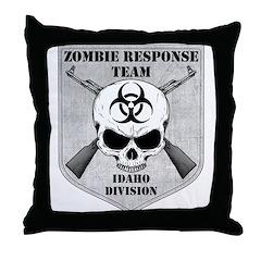 Zombie Response Team: Idaho Division Throw Pillow