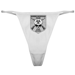 Zombie Response Team: Idaho Division Classic Thong