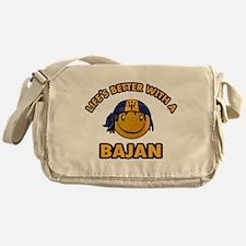 Life's better with a Bajan Messenger Bag