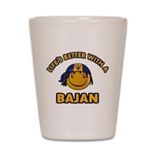 Life's better with a Bajan Shot Glass