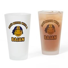 Life's better with a Bajan Drinking Glass