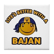 Life's better with a Bajan Tile Coaster