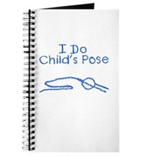 Blue Child's Pose Journal