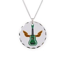 Flying Ukulele Necklace